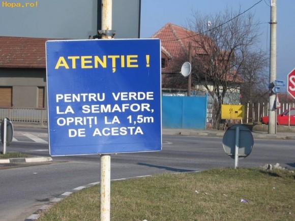 Din Romania - Si se va face verde...