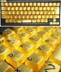 Calculatoare - Tastatura din aur