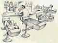Caricaturi - Barul perfect pentru betivi