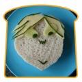 Ciudate - Un sandwich in forma de fata de copil