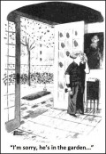 Caricaturi - Da, e in gradina...