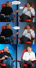 Diverse -  Bill Gates si Steve Jobs