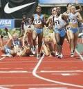 Sport - Doar blonde pe jos