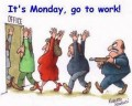 Caricaturi - Este luni, toata lumea la munca