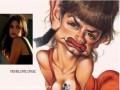 Caricaturi de personaje - Penelope Cruz