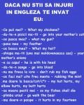 Anunturi - Injuraturi in engleza