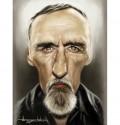 Caricaturi de personaje - Denis Hopper