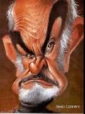 Caricaturi de personaje - Sean Connery