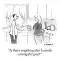 Caricaturi - Iubito, mai este ceva ce pot face gresit pentru tine?!