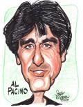 Caricaturi de personaje - Al Pacino