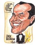Caricaturi de personaje - Jack Nicholson