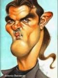 Caricaturi de personaje - Antonio Banderas