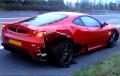 Auto Moto - Un Ferrari F430 ramane fara pneu la 190 de km/h