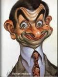 Caricaturi de personaje - Rowan Atkinson