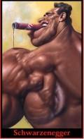 Caricaturi de personaje - Arnold Schwarzenegger