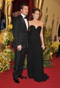 Celebritati - Oscar 2009 - Brad Pitt si Angelina Jolie