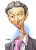 Caricaturi de personaje - Dan Diaconescu