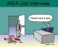 Diverse - Interviu pentru angajare la Ikea