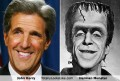 Celebritati - Asemanare: John Kerry si Herman Monster