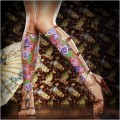 Diverse - Body painting  - Sandale