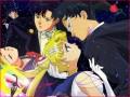 Desene animate - Tuxedo Mask si Sailor Moon