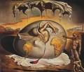 Artistice - Salvador Dali - Copilul geopolitic urmarind nasterea noului om