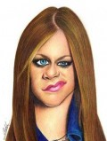 Caricaturi de personaje - Avril Lavigne