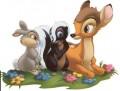 Desene animate - Bambi flower iepurica