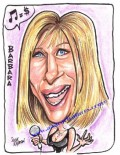 Caricaturi de personaje - Barbra Streisand