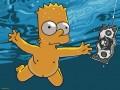 Desene animate - Bart in apa