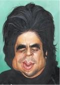 Caricaturi de personaje - Benicio Del Toro