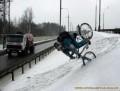 Auto Moto - Cu bicicleta iarna