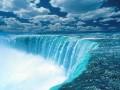 Peisaje - Cascada albastra