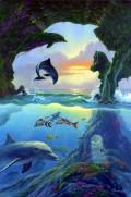 Iluzii - Cati delfini sunt in imagine?