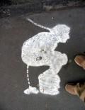 Ciudate - Semn pe asfalt