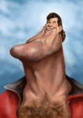 Caricaturi de personaje - David Hasselhoff