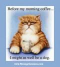 Caricaturi - Inainte de cafeaua de dimineata