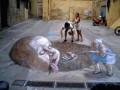 Iluzii - Desen pe asfalt