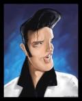 Caricaturi de personaje - Elvis Presley