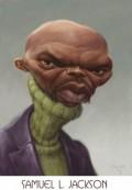 Caricaturi de personaje - Samuel L. Jackson