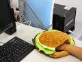 Gadgets -  Hamburger Mouse Pad