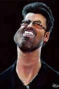 Caricaturi de personaje - George Michael