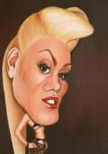 Caricaturi de personaje - Gwen Stefani