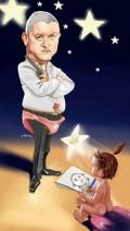 Caricaturi de personaje - Virgil Iantu