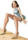 Caricaturi de personaje - Ileana Pescariu