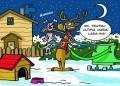 Caricaturi - Renul lui Mos Craciun