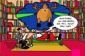 Caricaturi - Mos Craciun la psihiatru