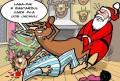 Caricaturi - Renul suparat