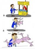 Caricaturi - Balonul surpriza