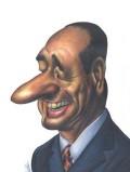 Caricaturi de personaje - Jacques Chirac